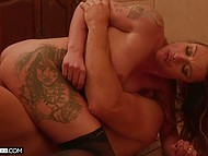 Married girl's life leaves much to be desired, so she spreads legs for the muscled stallion